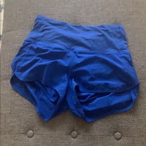 Lululemon High Waist Speed Short Hard to Find Sz 6